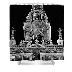 Giralda Tower In Monochrome. Seville Shower Curtain