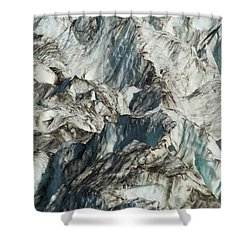 Glacier Ice 1 Shower Curtain