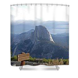 Glacier Point Shower Curtain