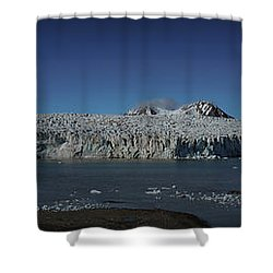 Glacier Svalbard Shower Curtain