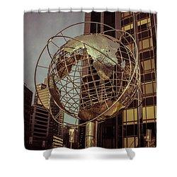 Globe 2 Shower Curtain