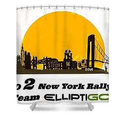 Go 2 Ny Rally 2019 Shower Curtain