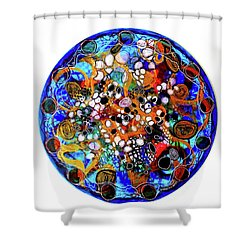 Go With The Flow 1 Shower Curtain