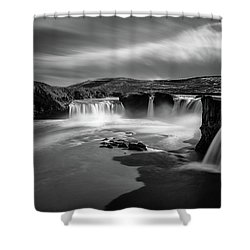 Godafoss Shower Curtain
