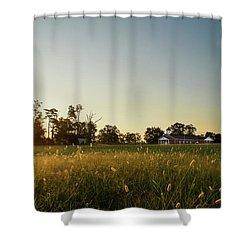 Shower Curtain featuring the photograph God's Promise by Mark Guinn