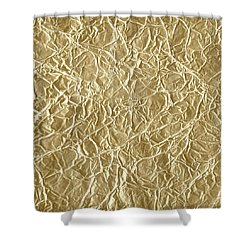 Gold Cute Gift Shower Curtain