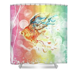Goldfin Shower Curtain