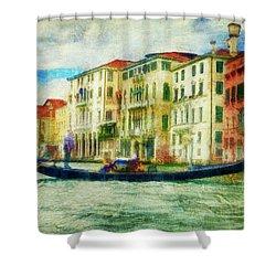 Gondola Ride Shower Curtain