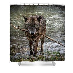 Got The Stick Shower Curtain
