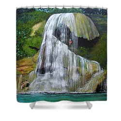 Gozalandia Shower Curtain