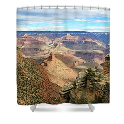 Grand Canyon View 3 Shower Curtain