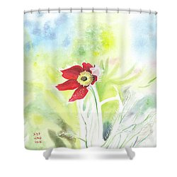 Granny Flower 3 Shower Curtain