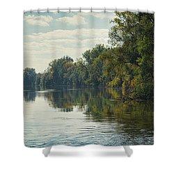 Great Morava River Shower Curtain