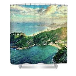Guanabara Bay Shower Curtain