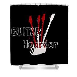 Guitar Hoarder Shower Curtain