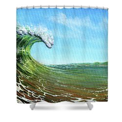 Gulf Of Mexico Surf Shower Curtain
