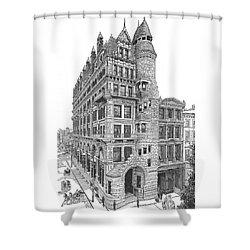 Hale Building Shower Curtain