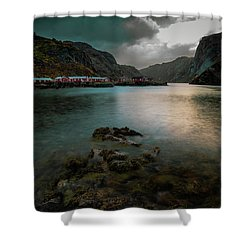 Hamnoy, Lofoten Islands Shower Curtain