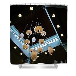 Hanging Lights Shower Curtain