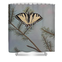 Hanging On To Summer Shower Curtain