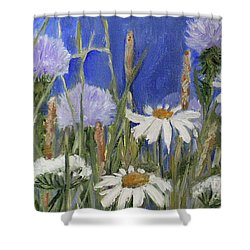 Happy Skies Shower Curtain