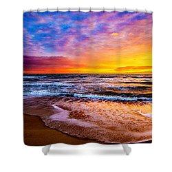 Hatteras Dawn  Shower Curtain