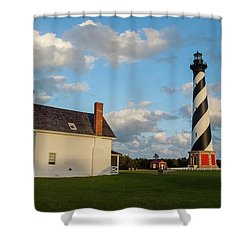 Hatteras Lighthouse No. 2 Shower Curtain