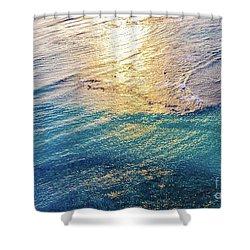 Hawaiian Sunset Shower Curtain by D Davila