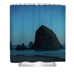 Haystack And Needles Shower Curtain