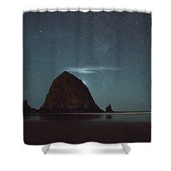 Haystack Under The Stars Shower Curtain