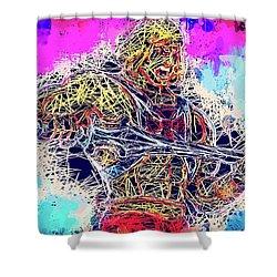 He - Man Shower Curtain
