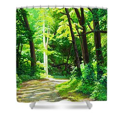 Heaven And Nature Sings Shower Curtain