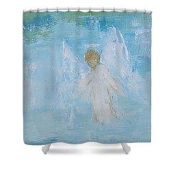 Heavenly Angel Child Shower Curtain
