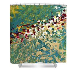 Hebrews 12 11. The Trials Of Discipline Shower Curtain