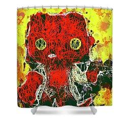 Hellboy Shower Curtain