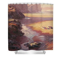 Hidden Path To The Sea Shower Curtain