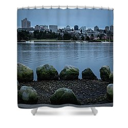 High And Low Tide Shower Curtain