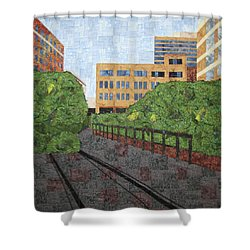 High Line In New York City Shower Curtain