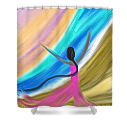 Highest Praise Shower Curtain