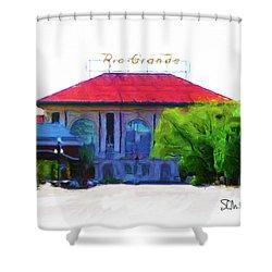 Historic Rio Grande Station Shower Curtain