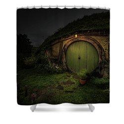 Hobbiton At Night #1 Shower Curtain