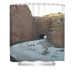 Hole In The Rock Shower Curtain