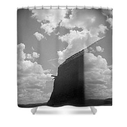 Holga Triptych 3 Shower Curtain