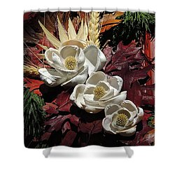 Holiday Shells Shower Curtain