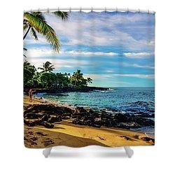 Honl Beach Shower Curtain