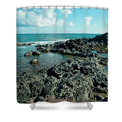 Shower Curtain featuring the photograph Hookipa Song Of The Sea by Sharon Mau