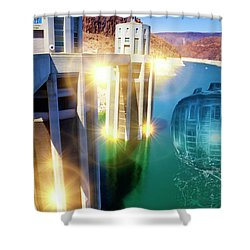 Hoover Intake Facility Shower Curtain