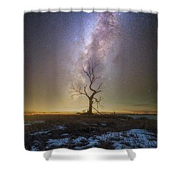 Shower Curtain featuring the photograph Hopeless He Stays  by Aaron J Groen