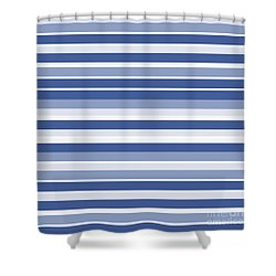 Horizontal Lines Background - Dde607 Shower Curtain