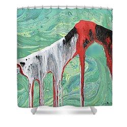 Hot Legs Shower Curtain
